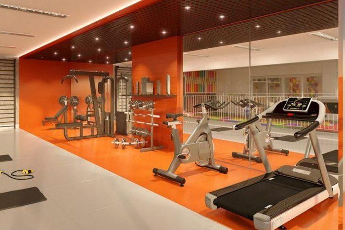 Estrutura do Vert Condomínio Clube inclui espaço para academia