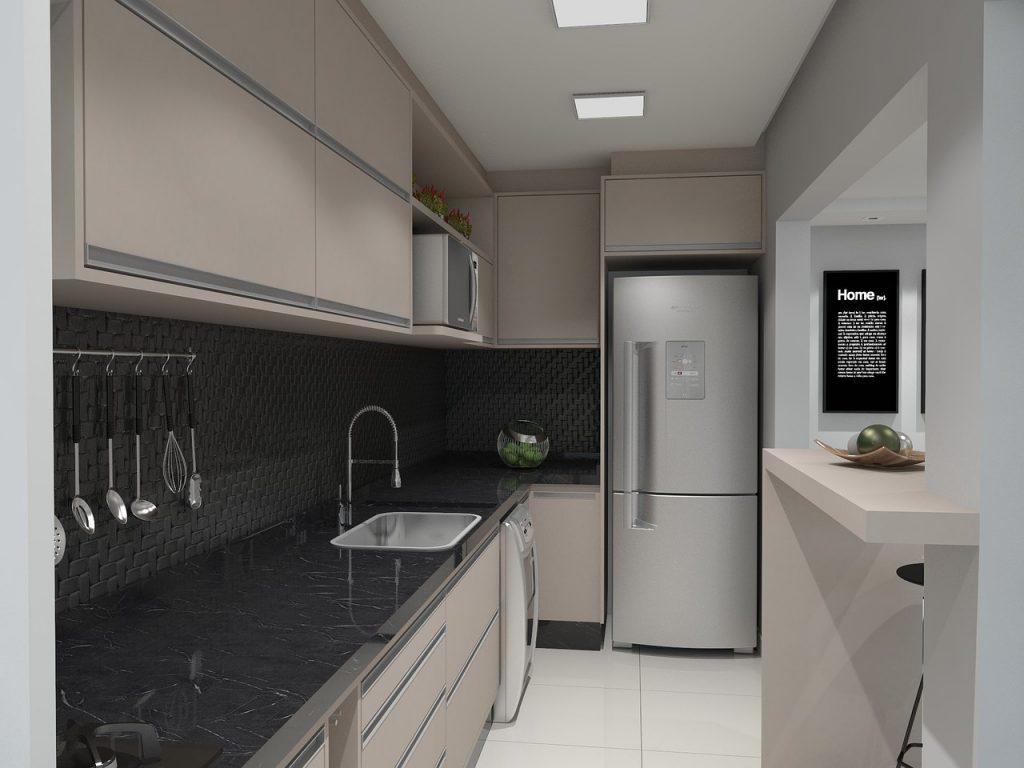 otimização de espaços em ambientes pequenos por meio de móveis planejados